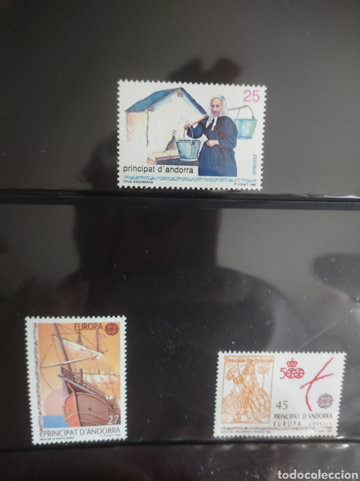 Sellos: Emisión de sellos España y Andorra 1992 libro álbum - Foto 15 - 267188254