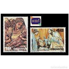 Francobolli: ESPAÑA 1986. EDIFIL 2867/68 2868. NAVIDAD -SIN FIJASELLO- NUEVO** MNH. Lote 267287344