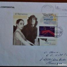 Sellos: ESPAÑA ALEMANIA 2012 MATASELLADO EN LLEGADA SALIDO DE LAS ISLAS BALEARES FLAMENCO. Lote 267473194