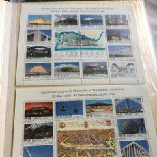 Sellos: EXPOSICIÓN UNIVERSAL SEVILLA 1992 : MOTIVOS DE LA EXPOSICIÓN 1992. Lote 267500954