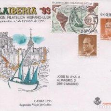 Sellos: SOBRE ENTERO POSTAL CIRCULADO DE ESPAÑA DE 1993. Lote 267501194