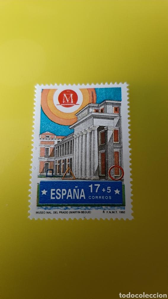CULTURA MADRID ESPAÑA MUSEO PRADO ARQUITECTURA EDIFIL 3229 NUEVA O USADA SOLICITA (Sellos - España - Juan Carlos I - Desde 1.986 a 1.999 - Usados)