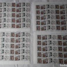 Sellos: 1978 EDIFIL 2466/7/8 CENTENARIOS TIZIANO 4 BLOQUES DE 30 SELLOS CADA UNO + 2 BLOQUES DE 15 **. Lote 267562494
