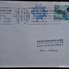 Sellos: SANTA CRUZ DE TENERIFE CANARIAS 1981 RODILLO. Lote 267605304
