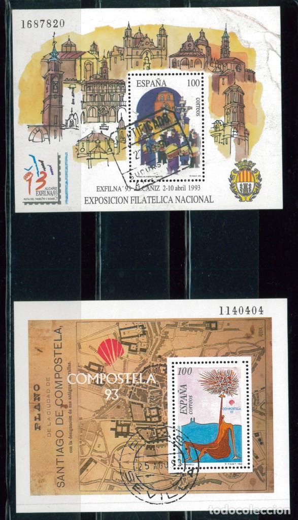 Sellos: España. Año completo 1993 usado - Foto 2 - 267628924