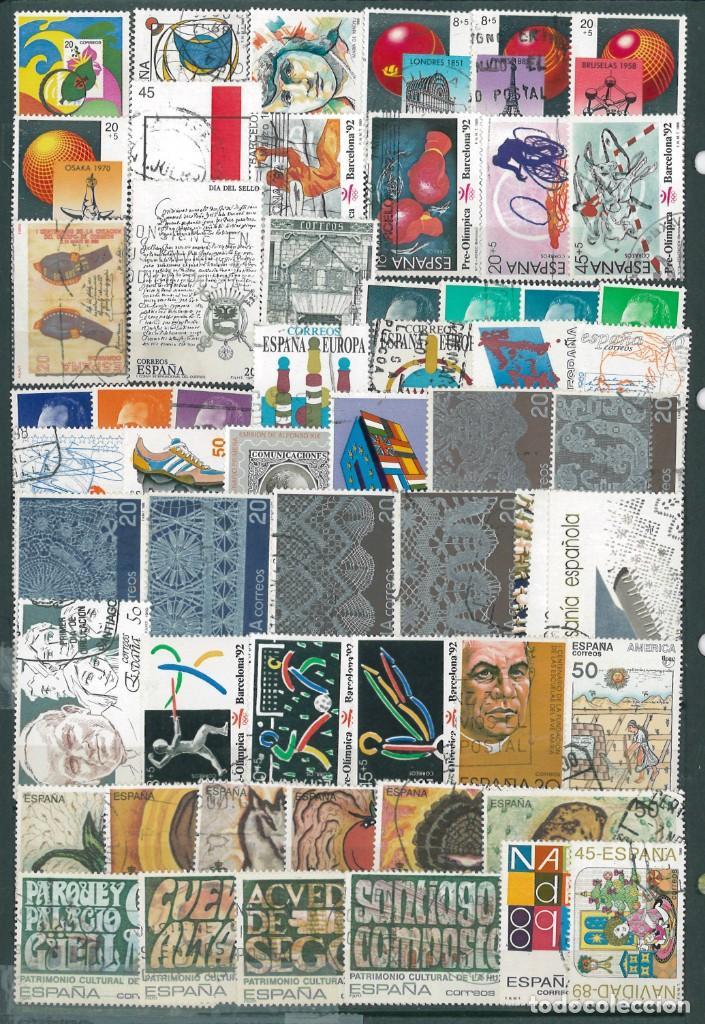 1989 COMPLETO USADO (Sellos - España - Juan Carlos I - Desde 1.986 a 1.999 - Usados)