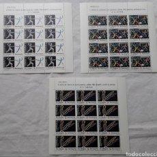 Sellos: 1989 MINIPLIEGOS DE DOCE SELLOS BARCELONA 92 MISMA NUMERACIÓN **. Lote 267656094