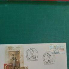 Sellos: 2001 MONFORTE DE LEMOS MATASELLO CARDENAL RODRIGO DE CASTRO SFC 17 2001 EDIFIL 3801. Lote 267665019