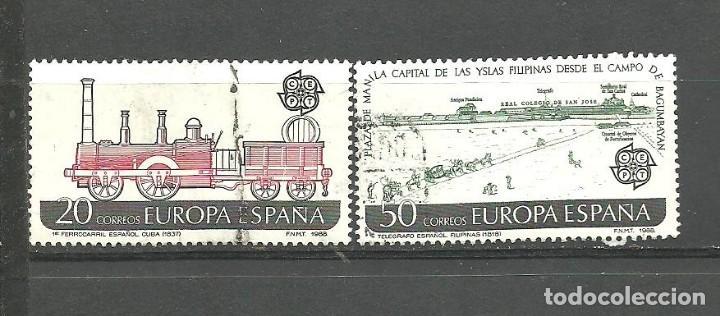 ESPAÑA 1988 - EDIFIL NRO. 2949-50 - USADO (Sellos - España - Juan Carlos I - Desde 1.986 a 1.999 - Usados)