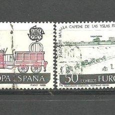 Sellos: ESPAÑA 1988 - EDIFIL NRO. 2949-50 - USADO. Lote 268256259