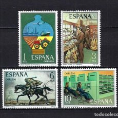 Selos: 1976 ESPAÑA EDIFIL 2329/2332 SERVICIO DE CORREOS MNH** NUEVOS SIN FIJASELLOS. Lote 268275769