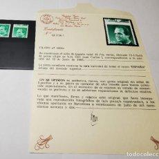 Sellos: SELLO ESPAÑA DE 1985.VARIEDAD CATALOGO FILABO 2801C.NUEVO SIN FIJASELLOS.CON CERTIFICADO GRAUS. Lote 268765419