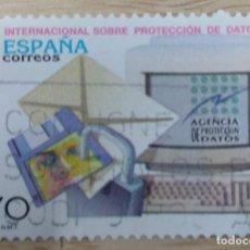Sellos: 1998. ESPAÑA. CONFERENCIA INTERNACIONAL SOBRE PROTECCIÓN DE DATOS.. Lote 268862219