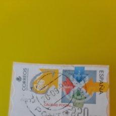 Sellos: PONTEVEDRA MATASELLO 1998 CALIDAD POSTAL ESPAÑA CORREOS USADO 220 PESETAS. Lote 269193653