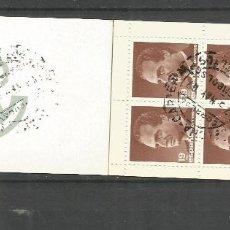 Selos: ESPAÑA CARNET EDIFIL NUM. 2834CII MATASELLADO (12 SELLOS). Lote 269619438