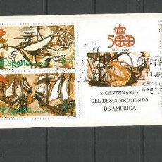 Sellos: ESPAÑA CARNET EDIFIL NUM. 3079C MATASELLADO. Lote 269620198