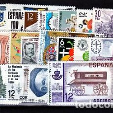 Sellos: ESPAÑA.- AÑO 1981 COMPLETO DE SELLOS NUEVOS SIN CHARNELA. Lote 270157508