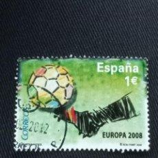 Sellos: SELLOS DE ESPAÑA € EUROCOPA 2008. Lote 270175543