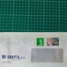 Sellos: 1984 BARCELONA FERIA INTERNACIONAL MUESTRAS MATASELLO EDIFIL 2744 FIESTAS TENERIFE. Lote 270528148