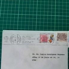 Sellos: 1983 VALENCIA MATASELLO RODILLO COMUNICACIONES EDIFIL 2691 ESTATUTO AUTONOMÍA ESCUDO VALENCIA. Lote 270576343