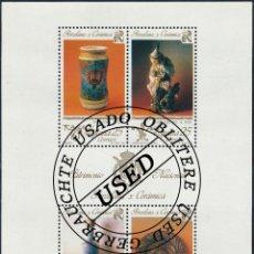 Sellos: 1991 ESPAÑA ED 3115 HB PATRIMONIO NACIONAL III TURISMO (O) USADO, BUEN ESTADO (EDIFIL). Lote 270747473
