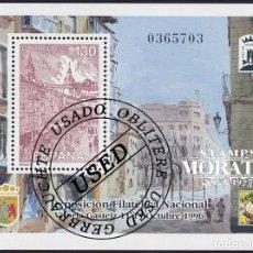 Sellos: 1996 ESPAÑA ED 3451 HB EXFILNA'96 EXPOSICIÓN (O) USADO, BUEN ESTADO (EDIFIL). Lote 270747543