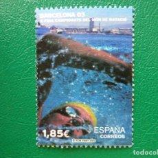 Francobolli: -2003, X CAMPEONATOS DEL MUNDO DE NATACION BARCELONA-03, EDIFIL SH3991B. Lote 272344688