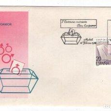 Sellos: CAJA P5/ ESPAÑA 1988, 1ER CENTANARIO CLARA CAMPOAMOR, 1ER DIA, SIN CIRCULAR. Lote 272707843