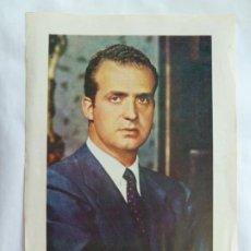 Selos: 29 DE DICIEMBRE DE 1975. PROCLAMACIÓN DEL REY JUAN CARLOS I. HOJA (24 X 16,5 CM). Lote 273608178