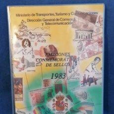 Sellos: ESPAÑA SELLOS LIBRO OFICIAL DE CORREOS AÑO 1983 NUEVO ***. Lote 274304853