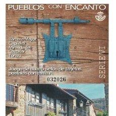Sellos: R13-B/ ESPAÑA 2021, MNH**, PUEBLOS CON ENCANTO. Lote 275027843