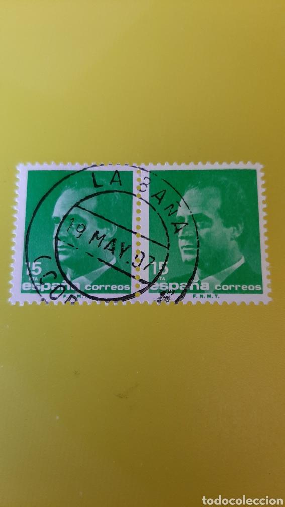 LA BAÑA LA CORUÑA MATASELLO EDIFIL 3004 USADO ESPAÑA 1989 (Sellos - España - Juan Carlos I - Desde 1.986 a 1.999 - Usados)