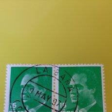 Sellos: LA BAÑA LA CORUÑA MATASELLO EDIFIL 3004 USADO ESPAÑA 1989. Lote 275710488