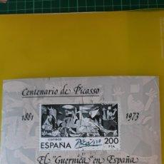 Sellos: USADO LUJO EDIFIL 2631 ESPAÑA 1981 ARTE PICASSO GUERNICA ESPAÑA. Lote 276118588
