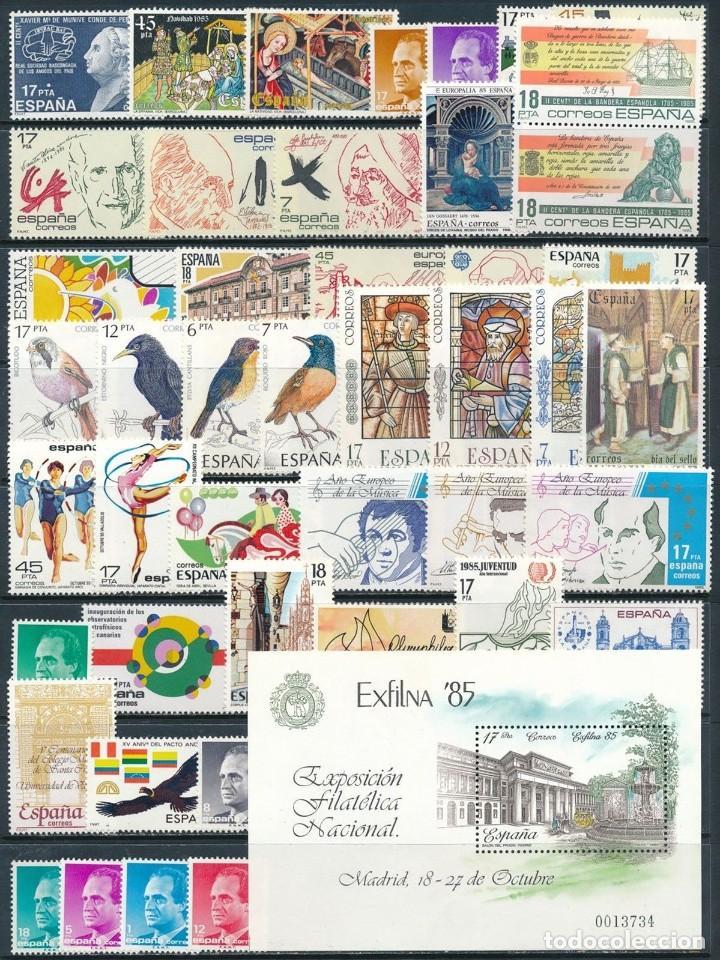 SELLOS ESPAÑA AÑO 1985 OFERTA COMPLETO Y NUEVO MNH GOMA ORIGINAL (Sellos - España - Juan Carlos I - Desde 1.975 a 1.985 - Nuevos)