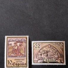 Sellos: SELLOS DE ESPAÑA EDIFIL 2593/94 **. Lote 276717788