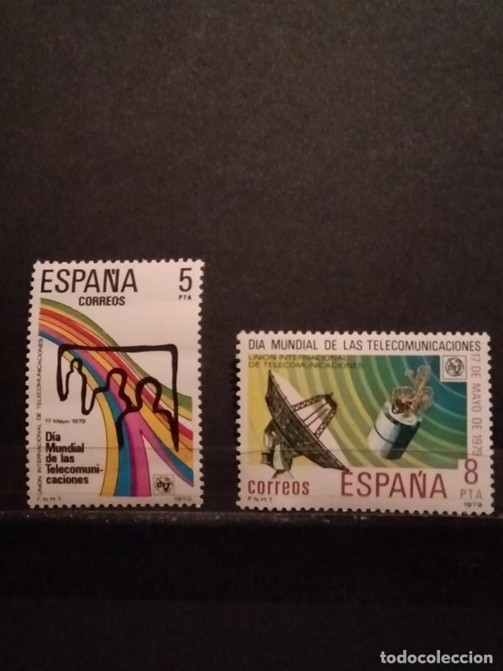 SELLOS DE ESPAÑA EDIFIL 2522/23** (Sellos - España - Juan Carlos I - Desde 1.975 a 1.985 - Nuevos)