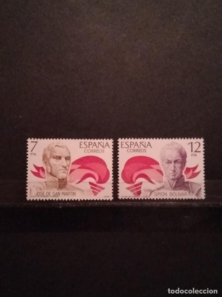 SELLO ESPAÑA EDIFIL 2489/90 ** (Sellos - España - Juan Carlos I - Desde 1.975 a 1.985 - Nuevos)