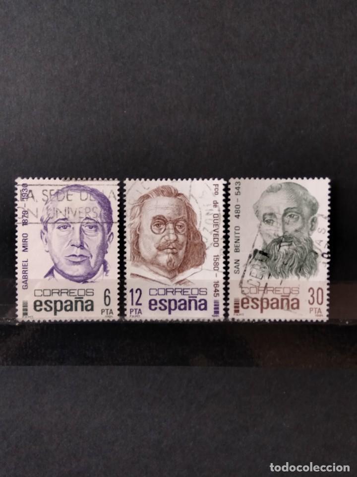 SELLO ESPAÑA EDIFIL 2618/20 (Sellos - España - Juan Carlos I - Desde 1.975 a 1.985 - Usados)
