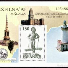 Sellos: HOJITA POSTAL «EXFILNA 95'» - 1995 - EDIFIL 3393 - NUEVO, ✶✶. Lote 277018308