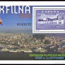 Sellos: HOJITA POSTAL «EXFILNA 2001» - 2001 - EDIFIL 3816 - NUEVO, ✶✶. Lote 277048358
