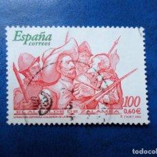 Sellos: -2000, LITERATURA ESPAÑOLA, EL ALCALDE DE ZALAMEA, EDIFIL 3774. Lote 277070023