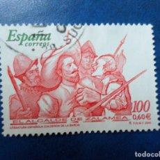 Sellos: -2000, LITERATURA ESPAÑOLA, EL ALCALDE DE ZALAMEA, EDIFIL 3774. Lote 277070118