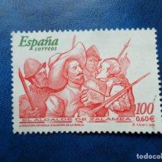 Sellos: -2000, LITERATURA ESPAÑOLA, EL ALCALDE DE ZALAMEA, EDIFIL 3774. Lote 277070218