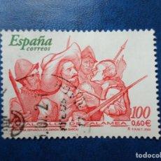 Sellos: -2000, LITERATURA ESPAÑOLA, EL ALCALDE DE ZALAMEA, EDIFIL 3774. Lote 277070288