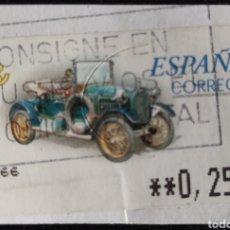 Sellos: SELLO ETIQUETA ATM USADA. HUMBERT T 1910 (CASC). Lote 277166313