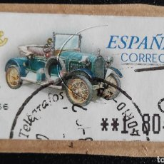 Sellos: SELLO ETIQUETA ATM USADA. HUMBERT T 1910 (CASC). Lote 277171843
