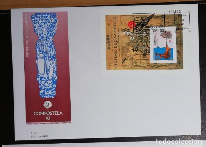 Sellos: AÑO COMPLETO SOBRES DE PRIMER DÍA AÑO 1993 FDC COMPLETO GRAN OCASION - Foto 4 - 277283583