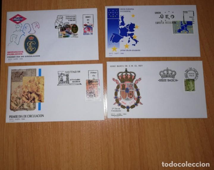 Sellos: AÑO COMPLETO SOBRES DE PRIMER DÍA AÑO 1994 FDC COMPLETO GRAN OCASION - Foto 3 - 277284738