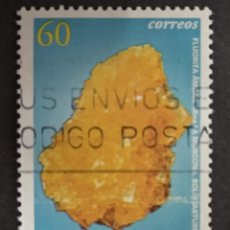 Sellos: ESPAÑA 1996. EDIFIL 3409 3409. MINERALES. USADO. Lote 277541053
